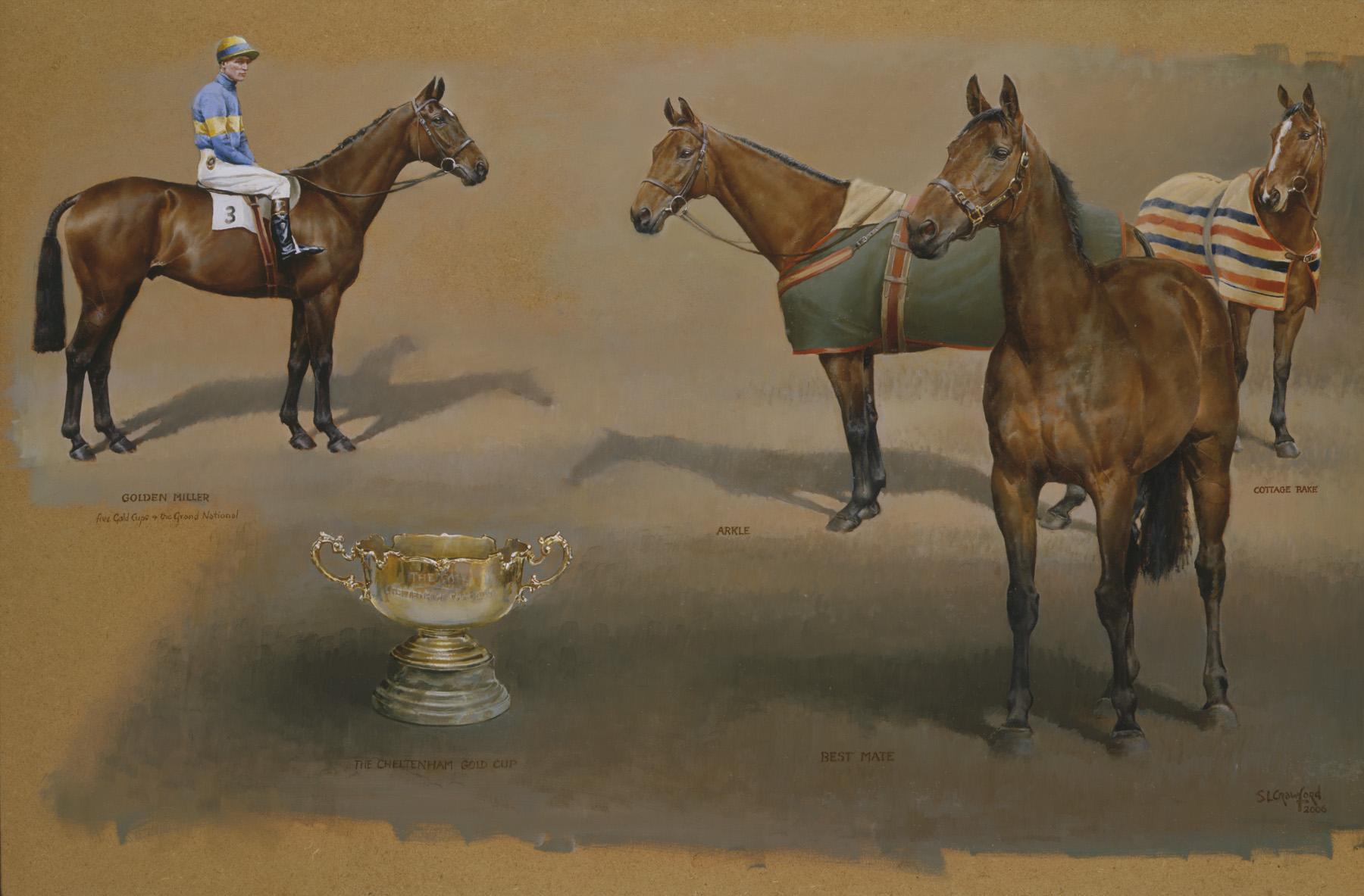 Triple Cheltenham Gold Cup Winners