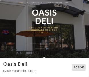 Food Service Beginner Site