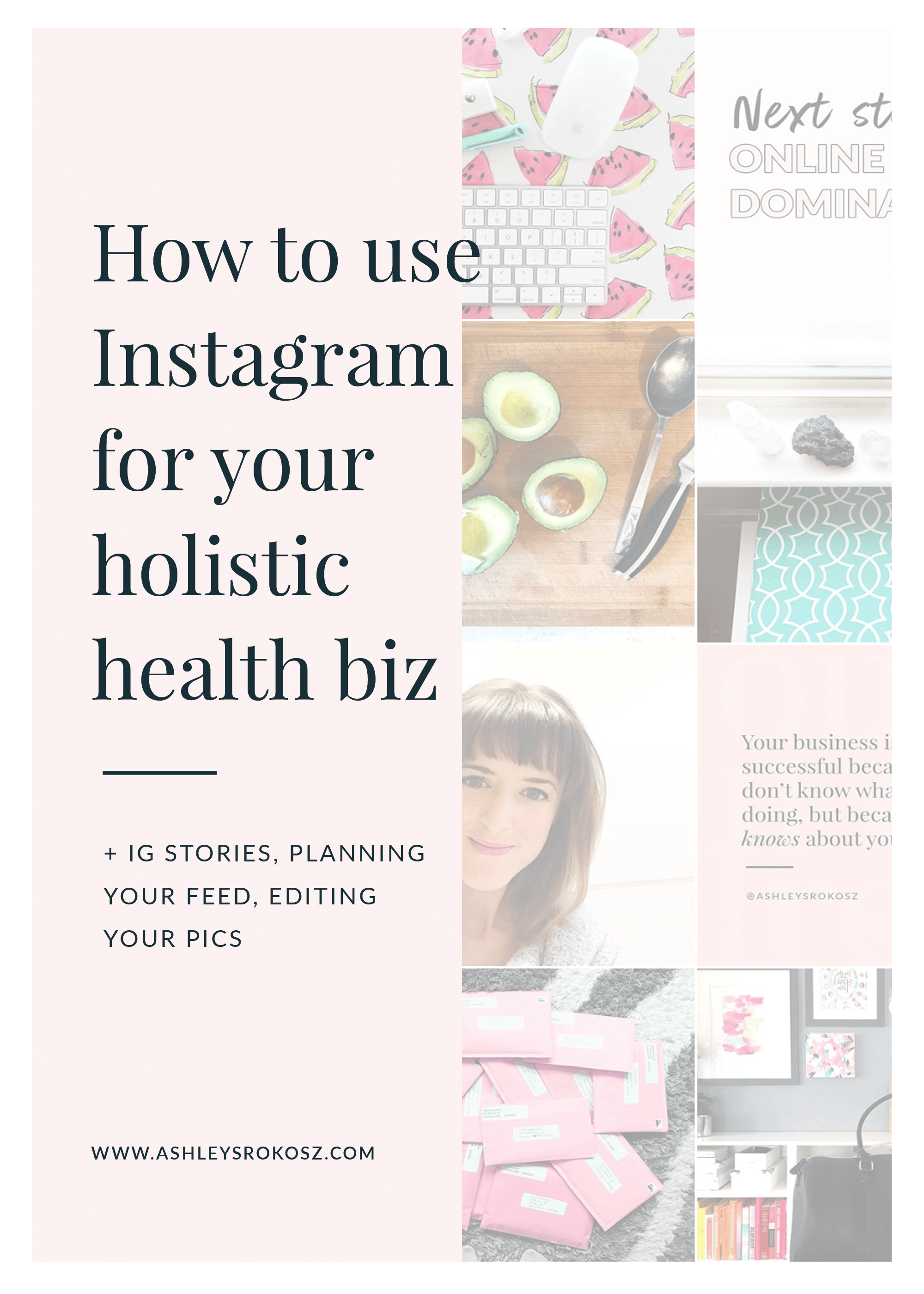 Are you a nutritionist or holistic health coach who wants to use Instagram to grow your business? Maybe you just want to up your Instagram game? Click here to learn 5 secrets to taking your Instagram feed to the next level + finding your dream clients! #healthcoach #healthcoachbusiness #nutritionist #nutritionbusiness #becomeahealthcoach #yogateacher #naturopath