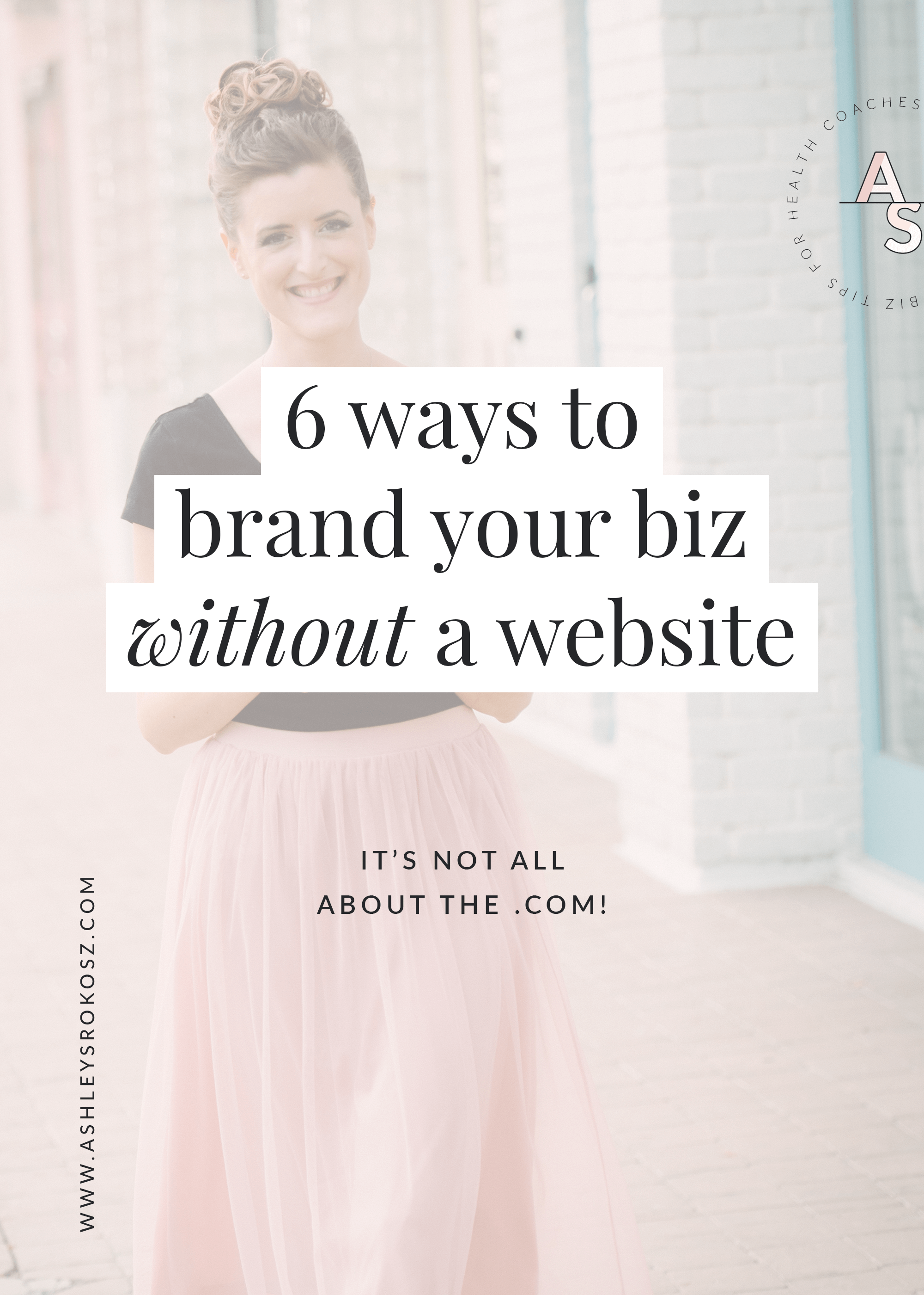 What is branding and how can it save you time in your business? Don't have a website but want to start attracting your dream clients? Click here to learn 6 ways to brand your business without a website, so that you can stand out from the crowd and create higher profits!  #healthcoach   #healthcoachbusiness   #nutritionist   #nutritionbusiness   #becomeahealthcoach   #yogateacher   #naturopath