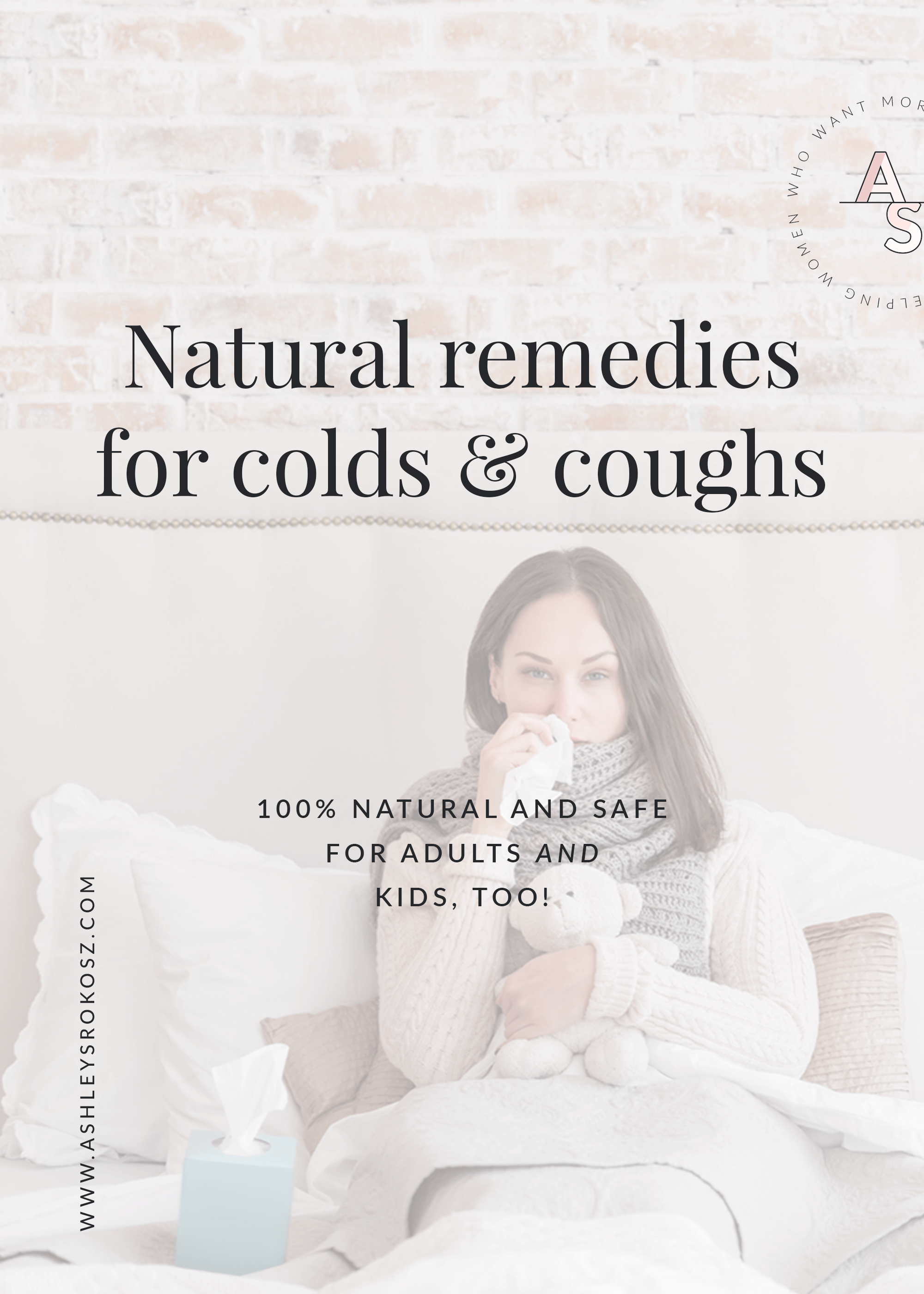 Is there anything worse than being sick when you have kids? Would you love to know how to get rid of colds and coughs faster? I'm sharing the 4 secret weapons to get you through cold and flu season naturally PLUS a recipe for the best natural cough syrup that actually works. #coldremedies #coughremedies #coughremediesforkids #coughessentialoils #getridofacoldfast