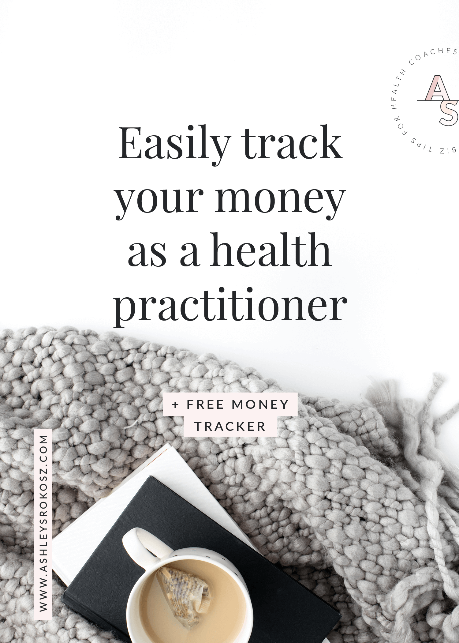 Are you a holistic health coach who needs to start tracking your business expenses? Easily keep track of your money with this business expense tracker! It's an auto-calculating spreadsheet in Excel for the whole year, and is perfect for holistic nutritionists, health coaches, or yoga teachers. Click here to get your own business expense tracker. #howtomakemoneyasahealthcoach #nutritionbusiness #healthcoachbusiness