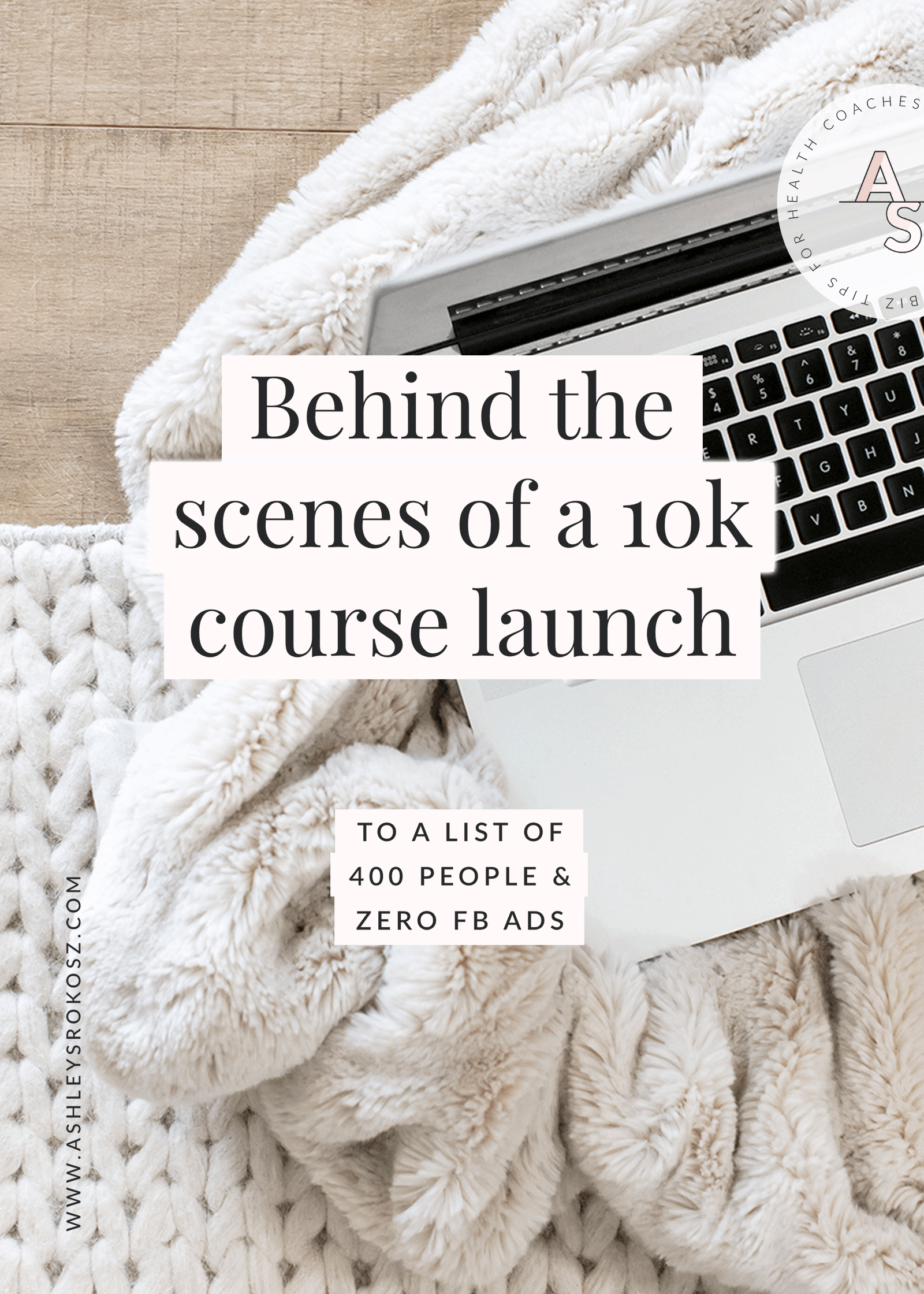Are you a holistic health coach who is ready to launch an online program? Check out the behind-the-scenes of a $10,000 launch to a list of just 400 emails, including the email sequence and sales from them. This is perfect for holistic nutritionists, health coaches, or yoga teachers who want to get online.