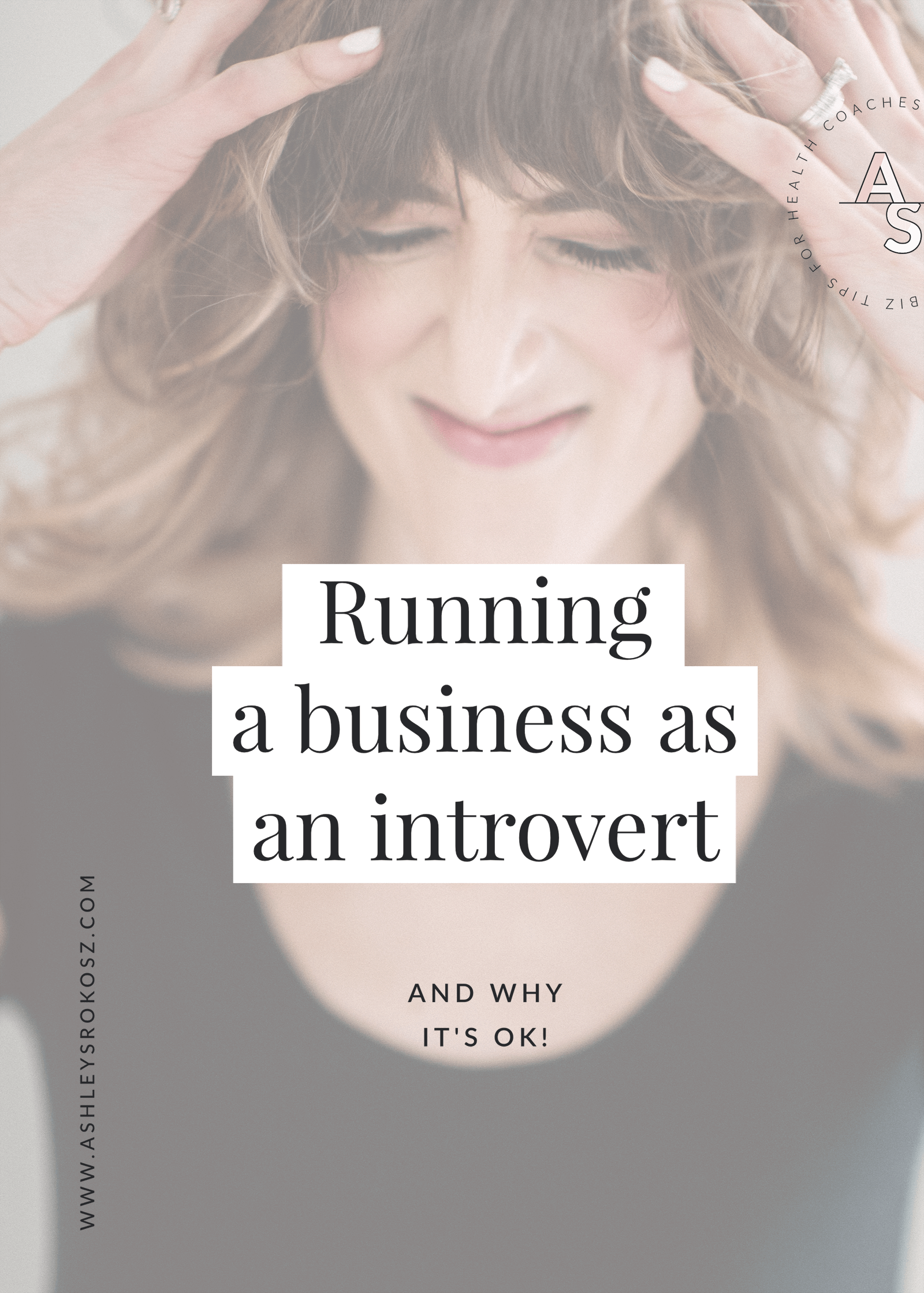 Are you an introvert trying to run a business as a health coach, holistic nutritionist, essential oil advocate, or yoga teacher? Are you feeling like being an entrepreneur just isn't for you? Me, too! Click to read about how to balance your introverted tendencies with your business and life :)