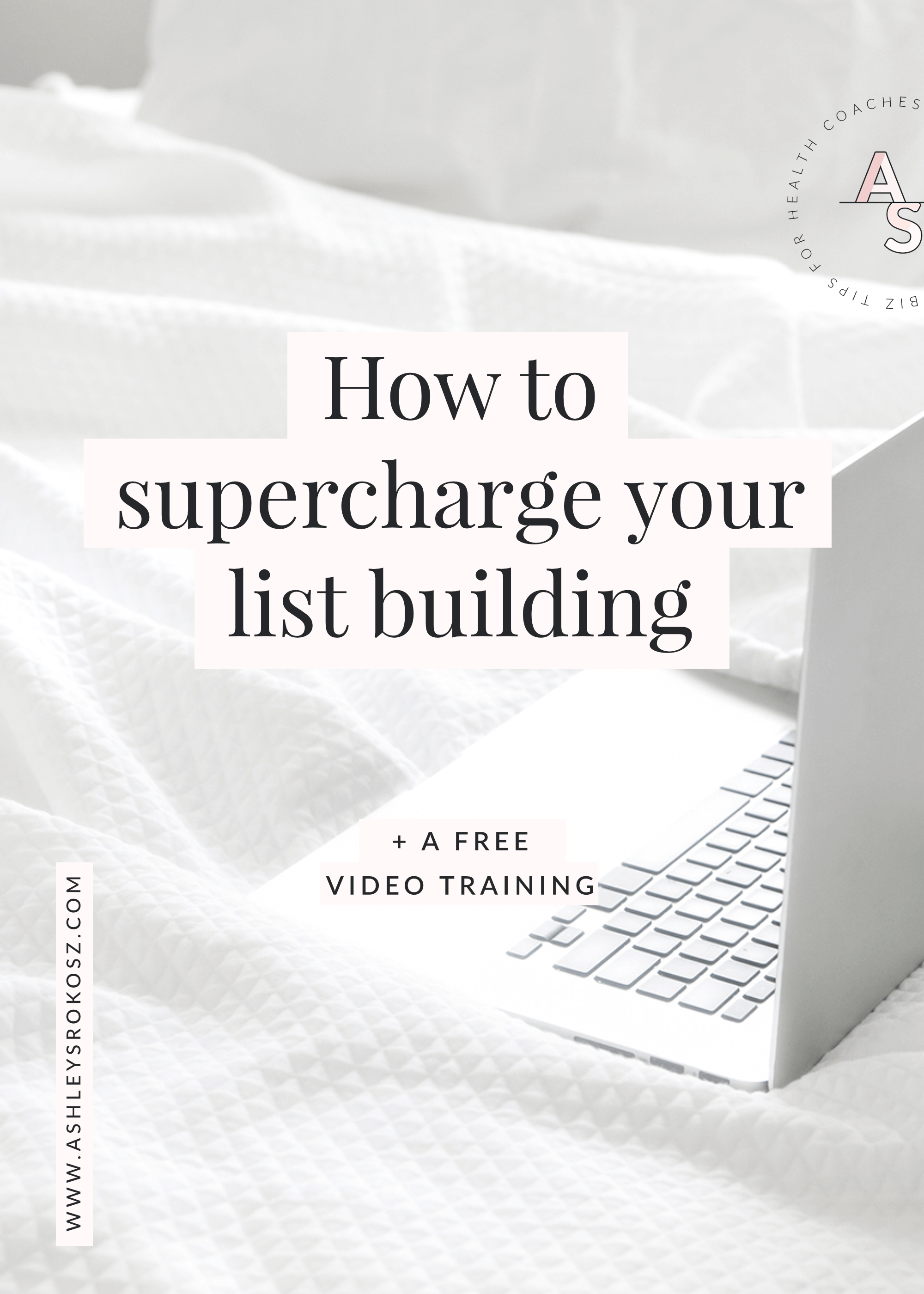 Have you been doing all the right things to build your email list, and it's still taking forever? Try using content upgrades in your blog posts! Click here to learn how Ashley Srokosz, Registered Holistic Nutritionist, used content upgrades on her website to supercharge her list building, leading to over $3,000 in sales of her latest online course (without launching!). PLUS there's a video tutorial showing you how to set them up. This is perfect for holistic nutritionists, health coaches, yoga teachers, or essential oil advocates!