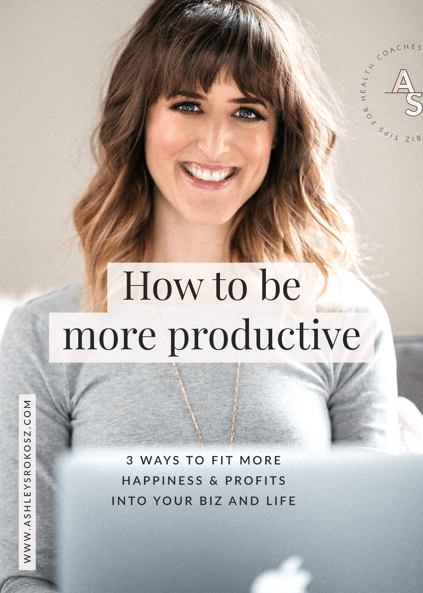 How do you get stuff done when your schedule is jam-packed? Does it seem like there's never enough time to do the things you WANT to do? Newsflash: everyone is busy! Click to see 3 ways that you can be more productive and save time even when you're a busy holistic health business owner. This is perfect for holistic nutritionists, health coaches, essential oil business owners, or yoga teachers.