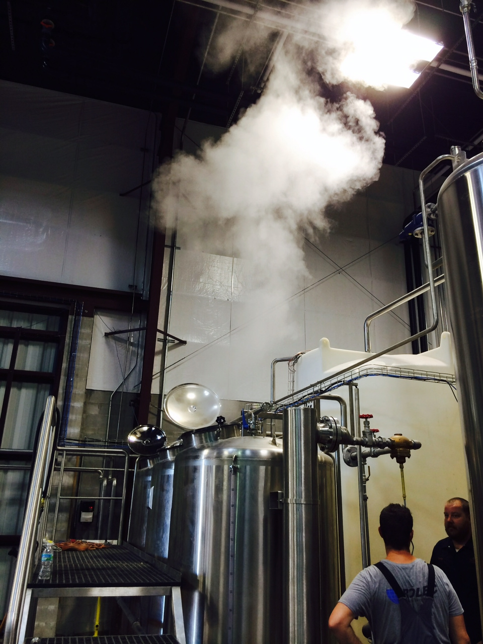 Where there is steam, there shall soon be beer.