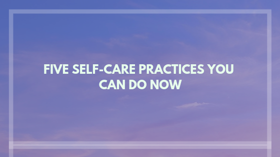 self care - therapy and counseling