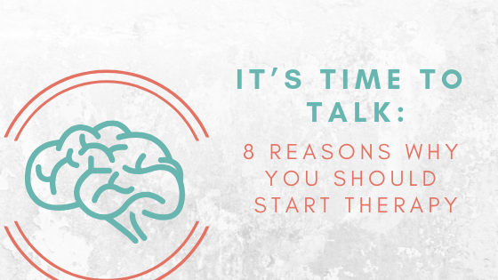 Reasons when you should start therapy, starting therapy