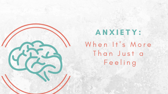 What is the difference between normal anxiety and an anxiety disorder?