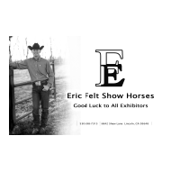 Eric Felt Show Horses