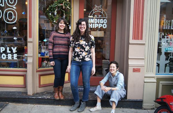 The art of business: Over-the-Rhine's creative entrepreneurs    Zach Darmanian, co-owner of Such and Such, and Alisha Budkie, executive director of Indigo Hippo, both know what it takes to own — and stay in business — in Over-the-Rhine.