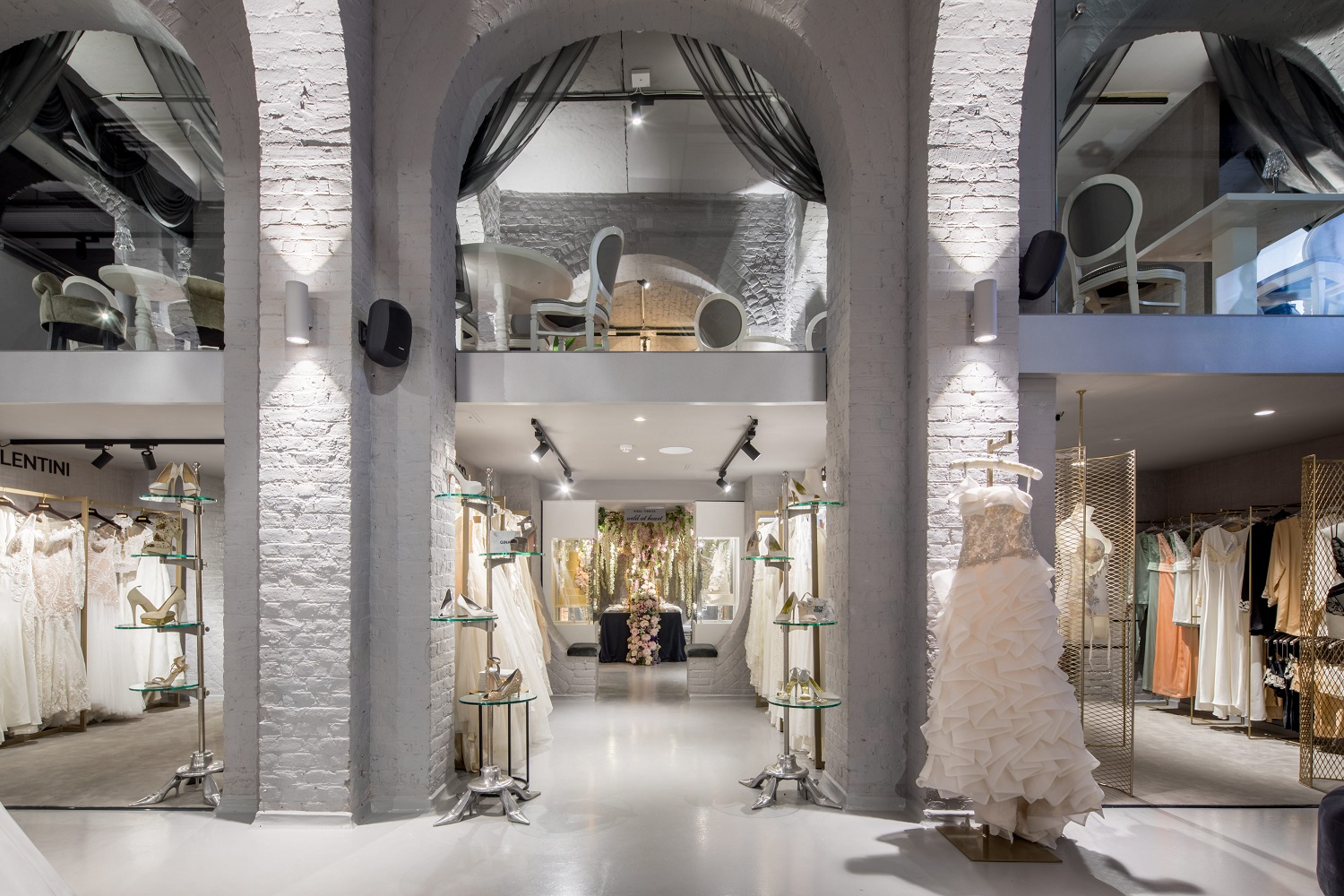Going to the Chapel    Located in London, The Wedding Gallery's modern design reinforces its host building's timeless beauty.