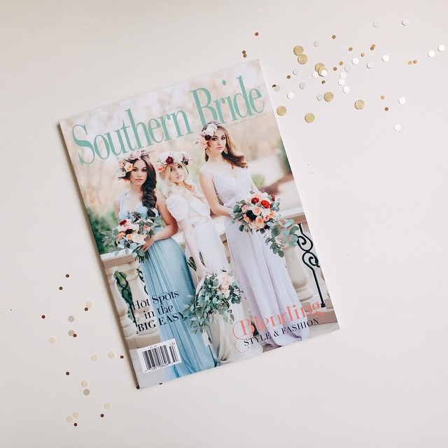 Pretty Swell Parties featured in Southern Bride Magazine