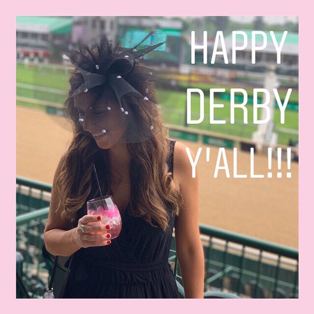 Derby 145 we survived!!! All hats and fascinators have been delivered and now it's time to celebrate (and sleep)!!! Thank you for an amazing year!!!❤️👒❤️ #headcandi #kentuckyderby #gobabygo
