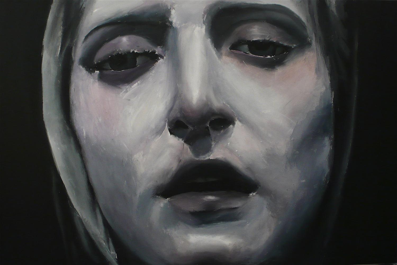 Untitled (dark woman), 2009