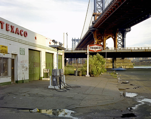 """Pike Slip, 1980"" from the series Time and Space on the Lower East Side 1980 + 2010"