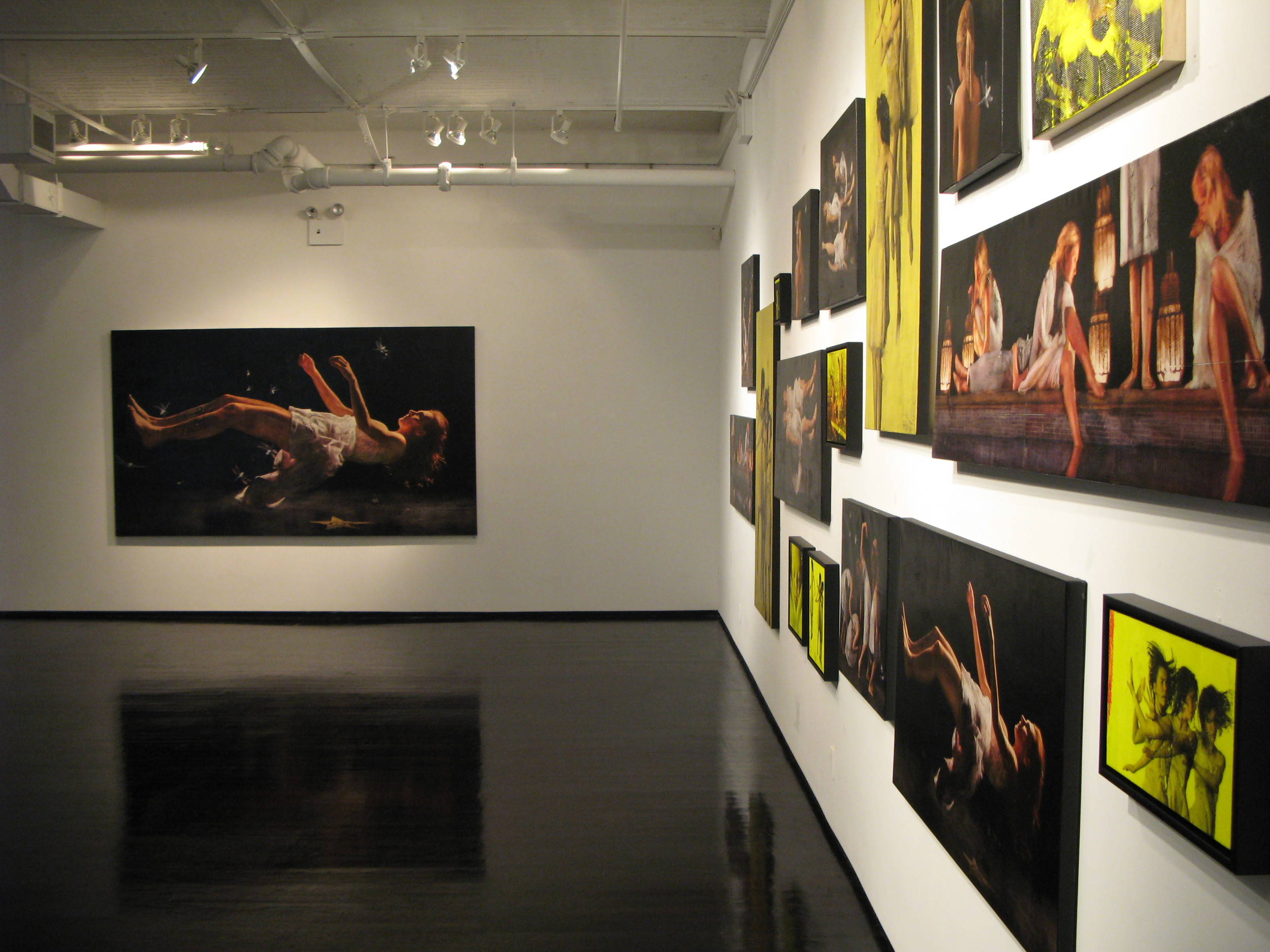 """Per Fronth: new works"" at Dillon Gallery, 2006"