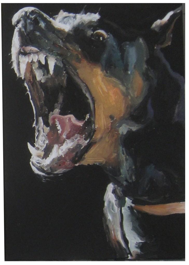Untitled (Doberman 2), 2014