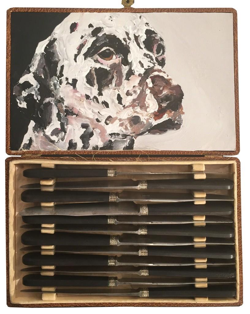 Untitled (Dalmatian box), 2014