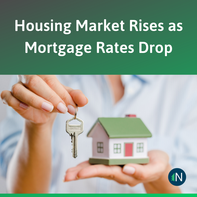 Housing Market Rises as Mortgage Rates Drop