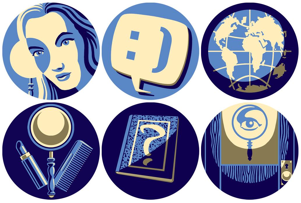 Unreleased Nancy Drew game UI prototypes