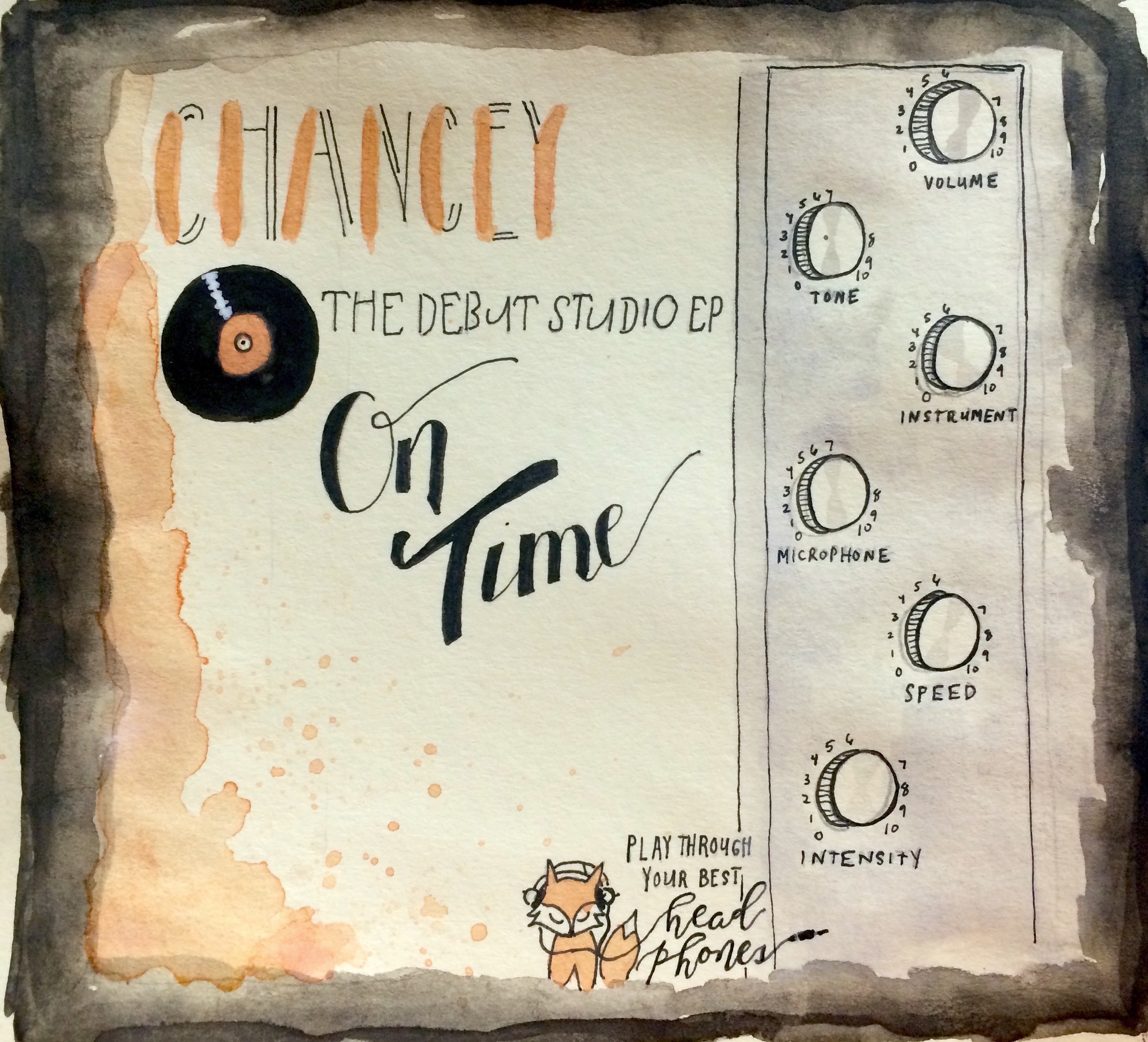 Chancey / On Time EP: Drums. Percussion - 2016