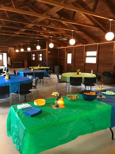 Dining hall reception.JPG