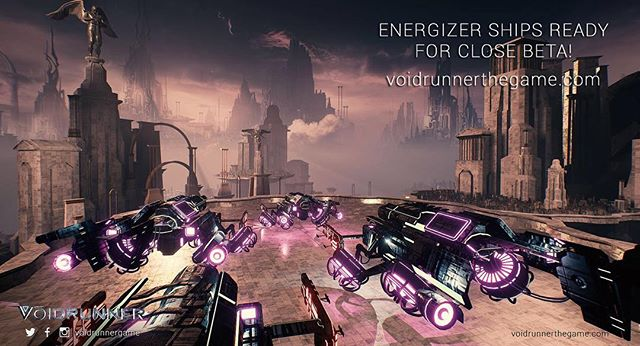 Energizer ships ready for Close Beta!  Sign up now for Free!  http://voidrunnerthegame.com/sign-up-page/  #pc #photooftheday #videogames #voidrunner #jointherunners #game #online @unrealengine #steam #gaming #shooter