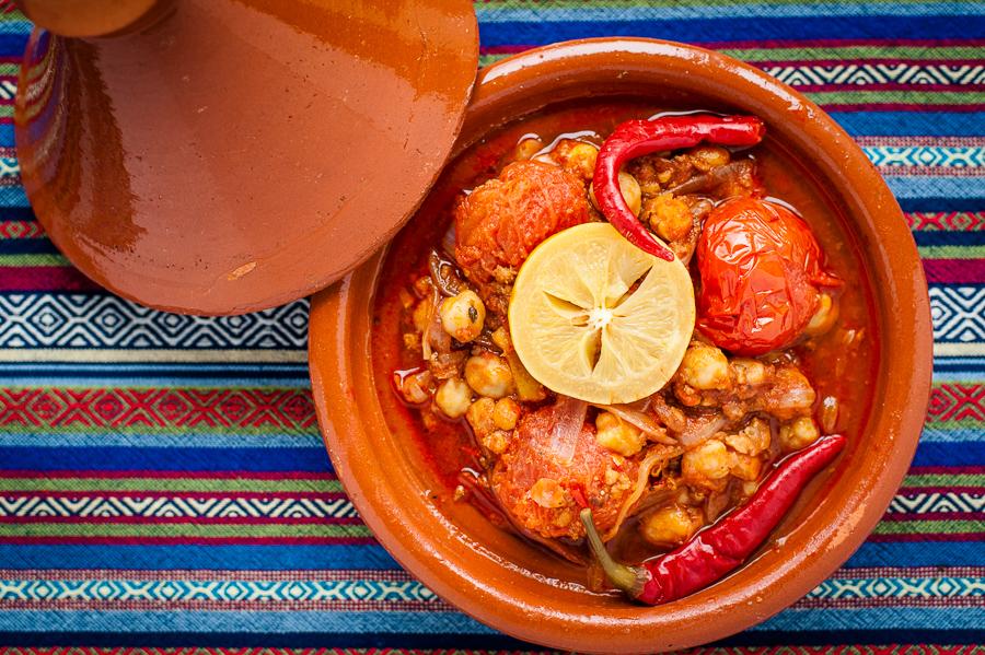 Morroccan Chorizo & Chickpea Tajine