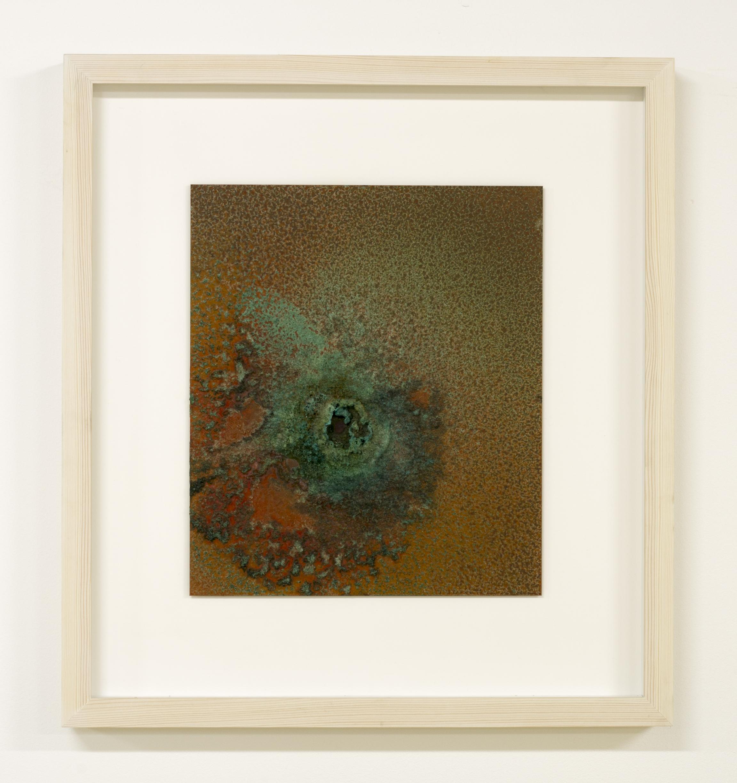 Self-portrait, respiration and perspiration, 03/10/2018- 06/10/2018