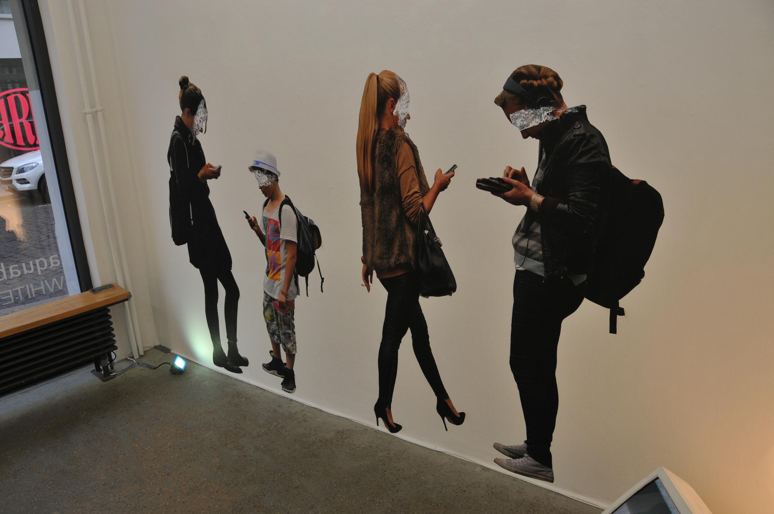 Mirage of Presence Multimedia Installation Berlin 2014