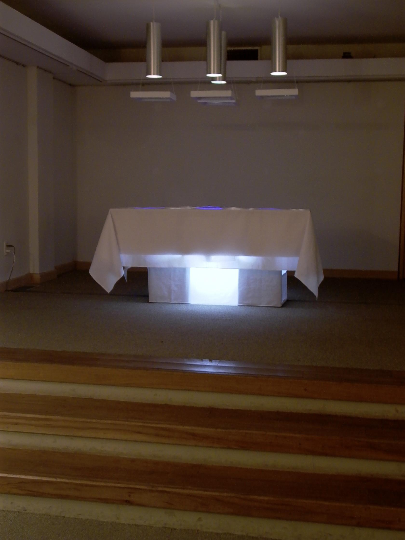 Metaorgánica La Ingestión de lo Intangible Light and Sound Installation 2005