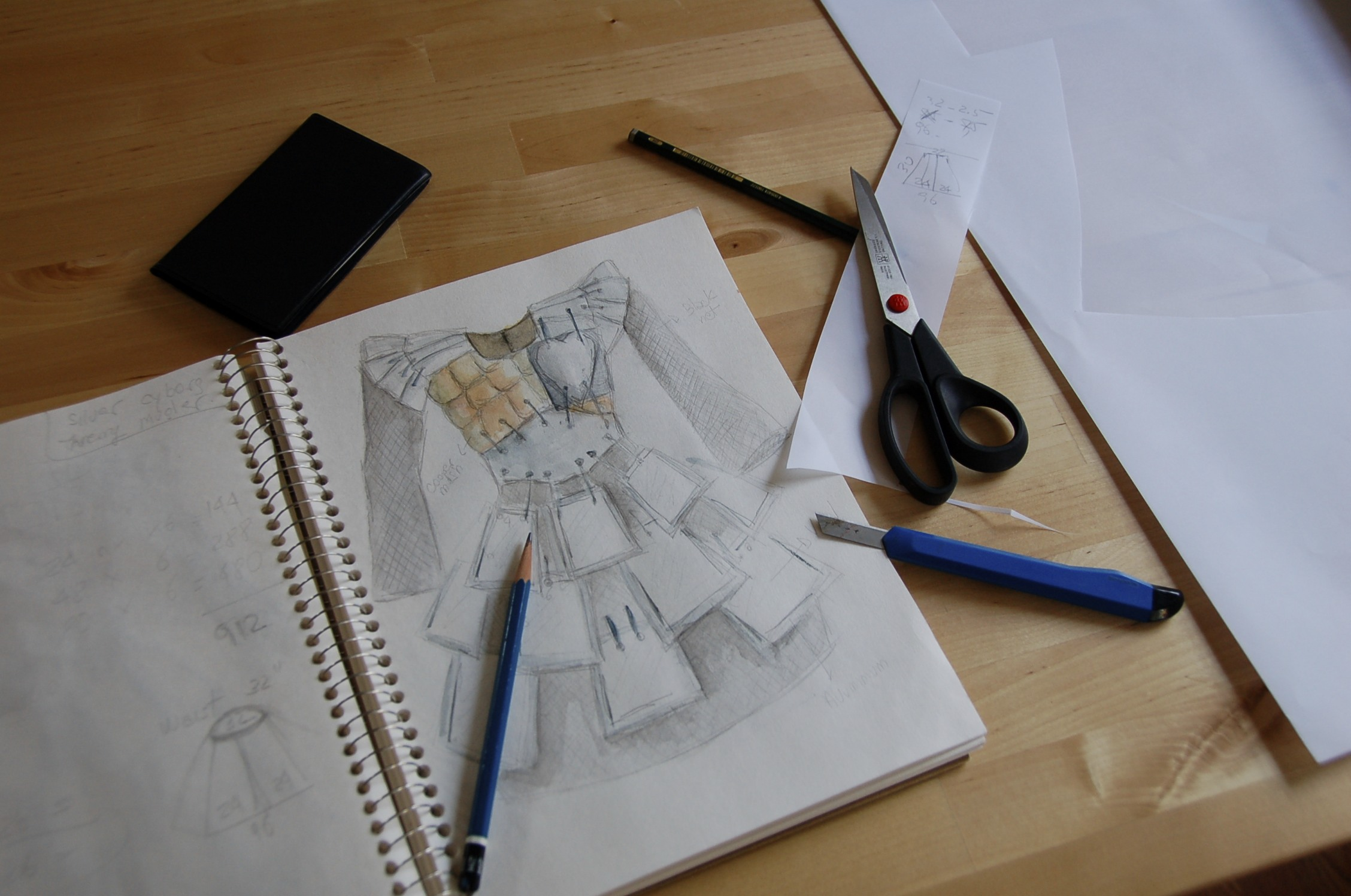 Warrior /sketch  2008