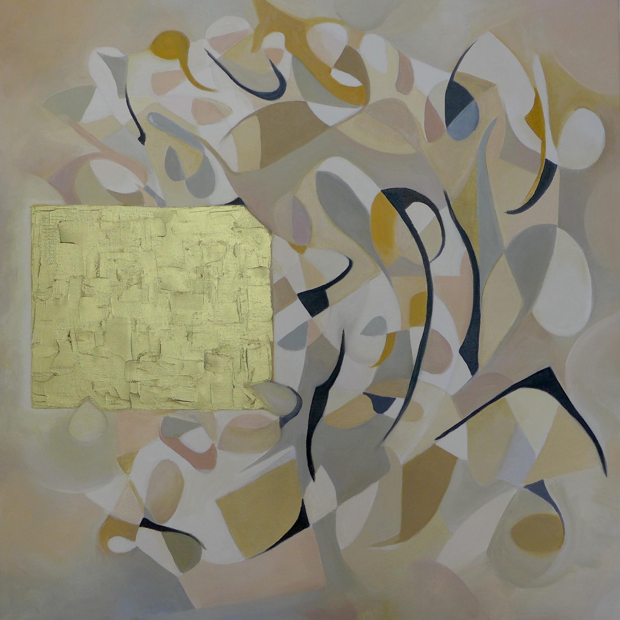 New Society /Oil on Canvas 100 x 100 cm 2015