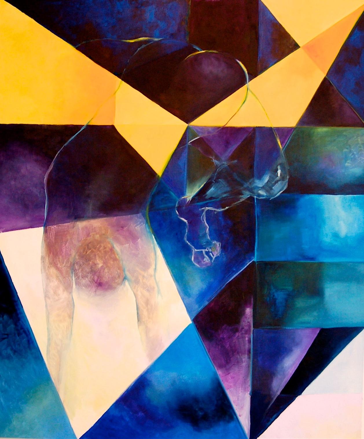 Submundo /Oil on canvas 120 x 90 cm 2005