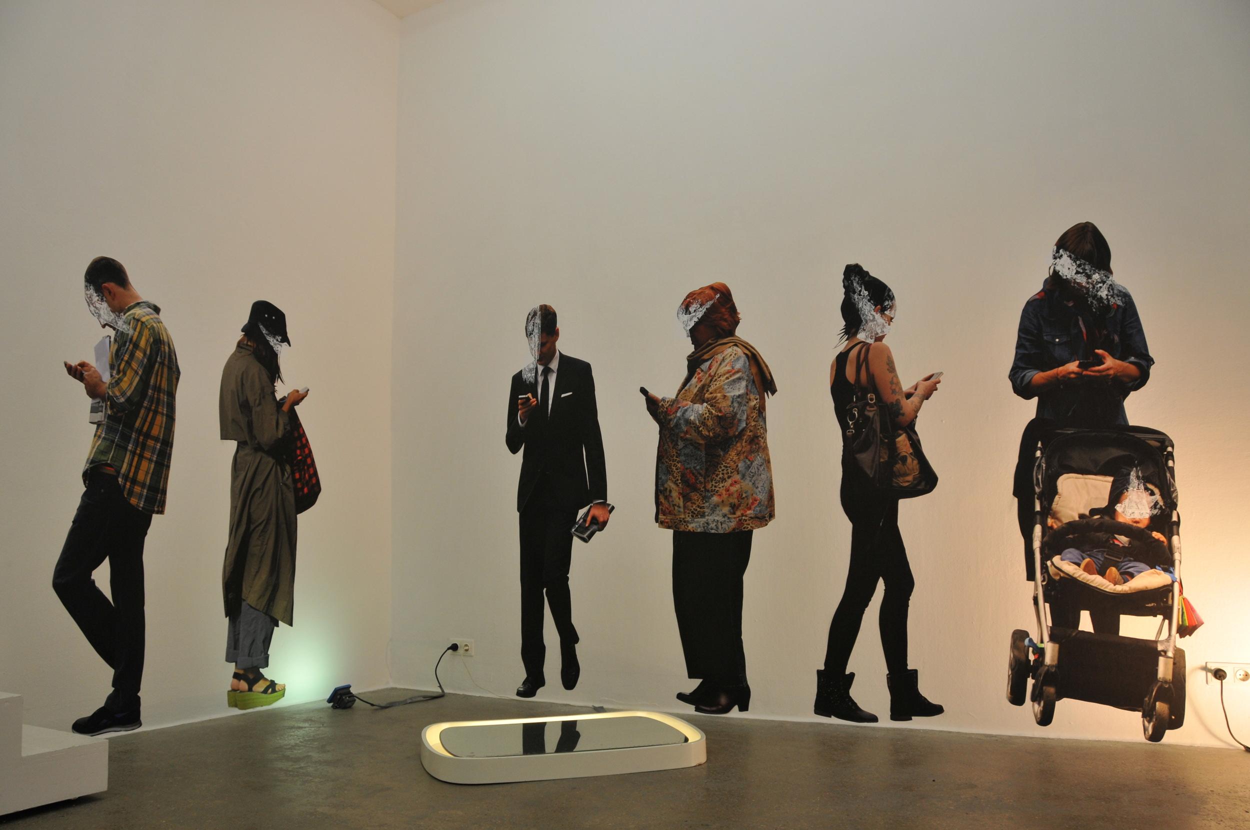 Mirage of Presence - Photo video installation 2014