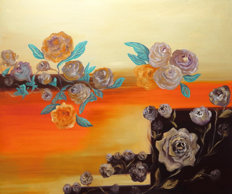 Life Nouveau/ Oil on canvas 120x100 cm/ 2019