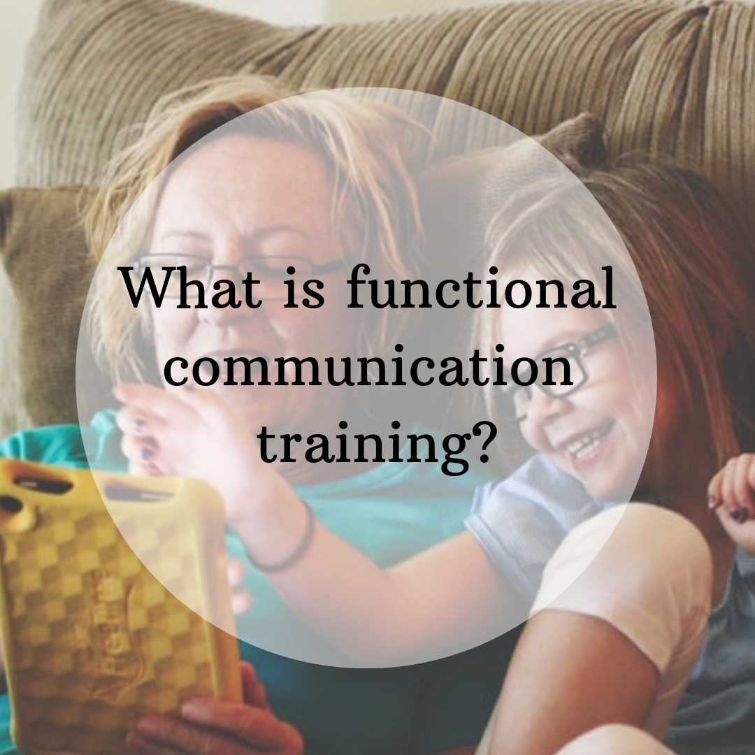 What Is Functional Communication Training The Behavior Place