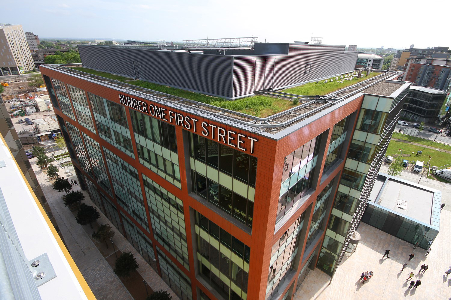 BREEAM Excellent 180,000 sq ft office building