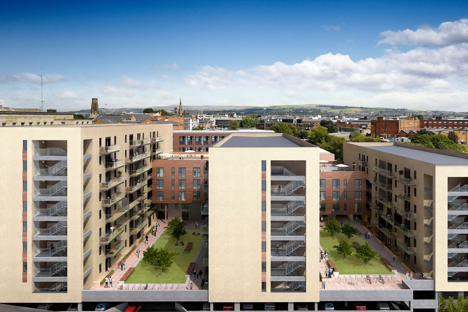 Schemes under consideration include new homes