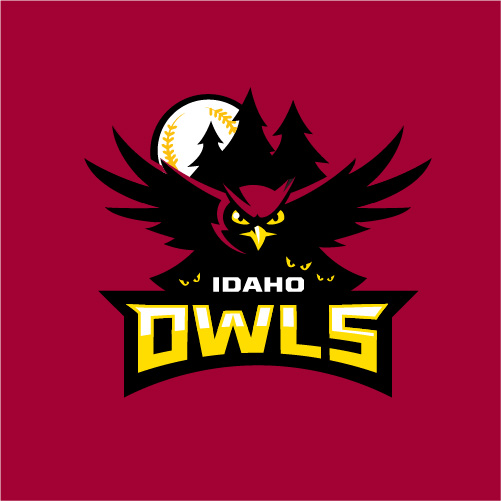 Idaho Owls Baseball Logo