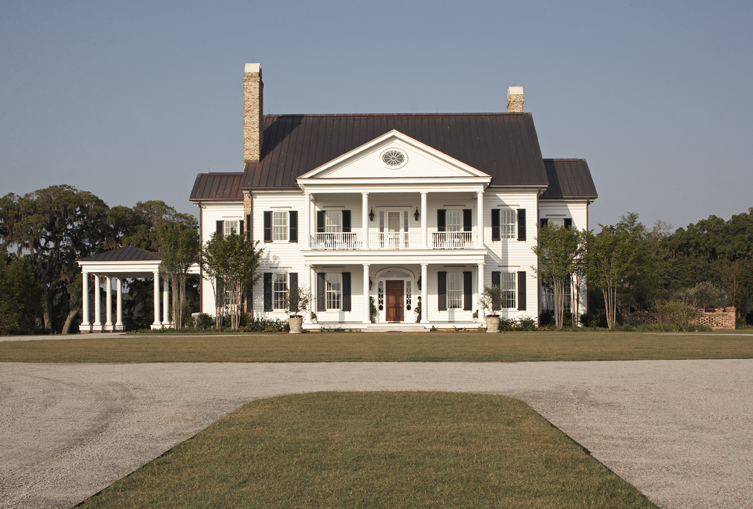 A Lowcountry Plantation--New Construction