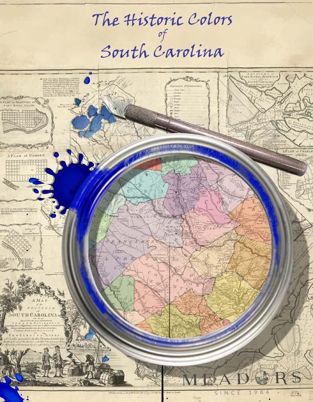 South Carolina Paint Study Book Cover