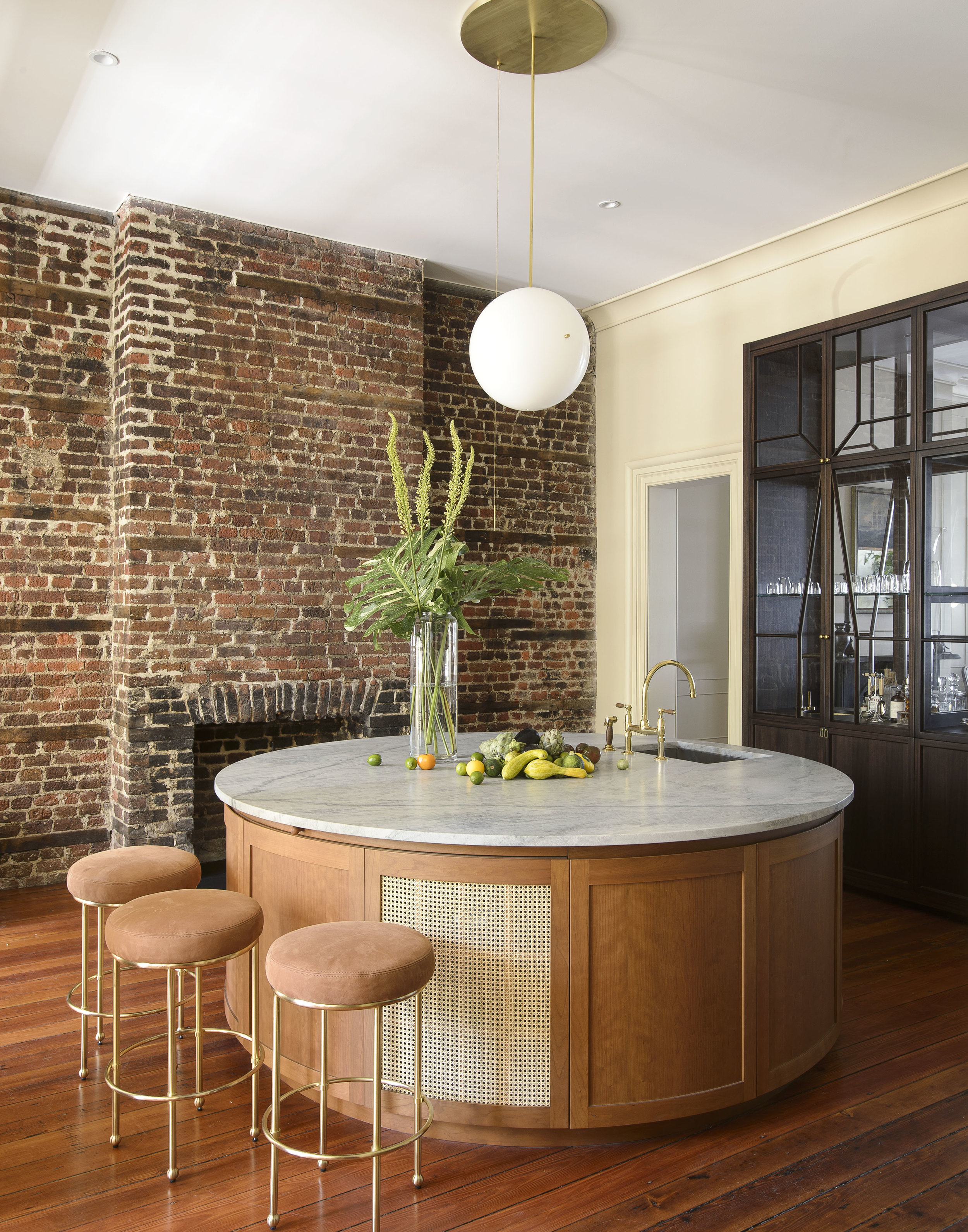 Workstead House - Meadors crafted the cabinetry for this project. Click the image to read the full New York Times article.