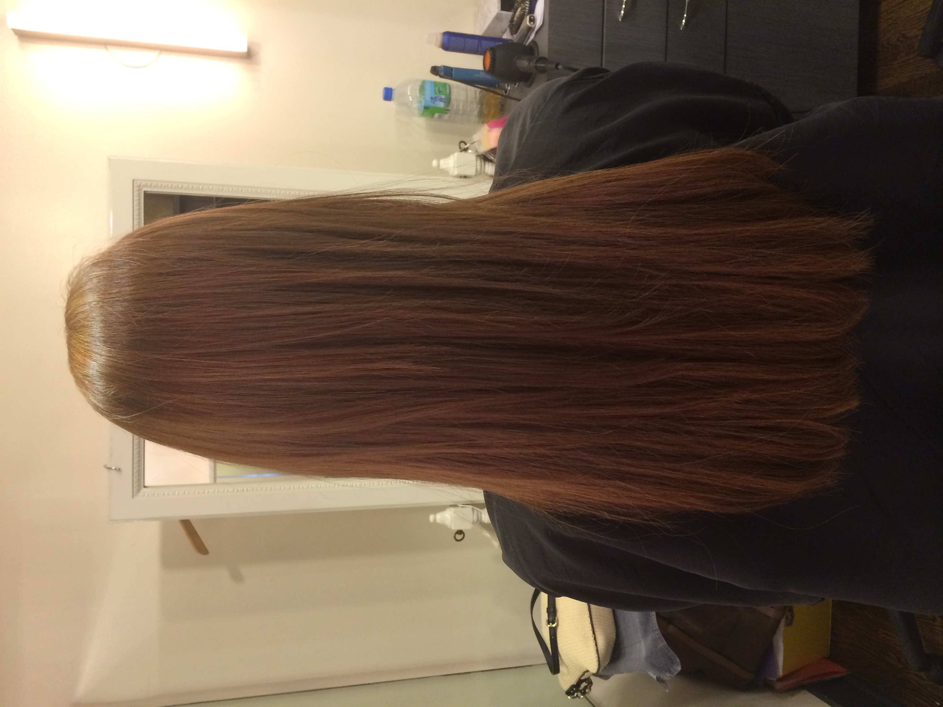 After Back  Great Lengths Extensions