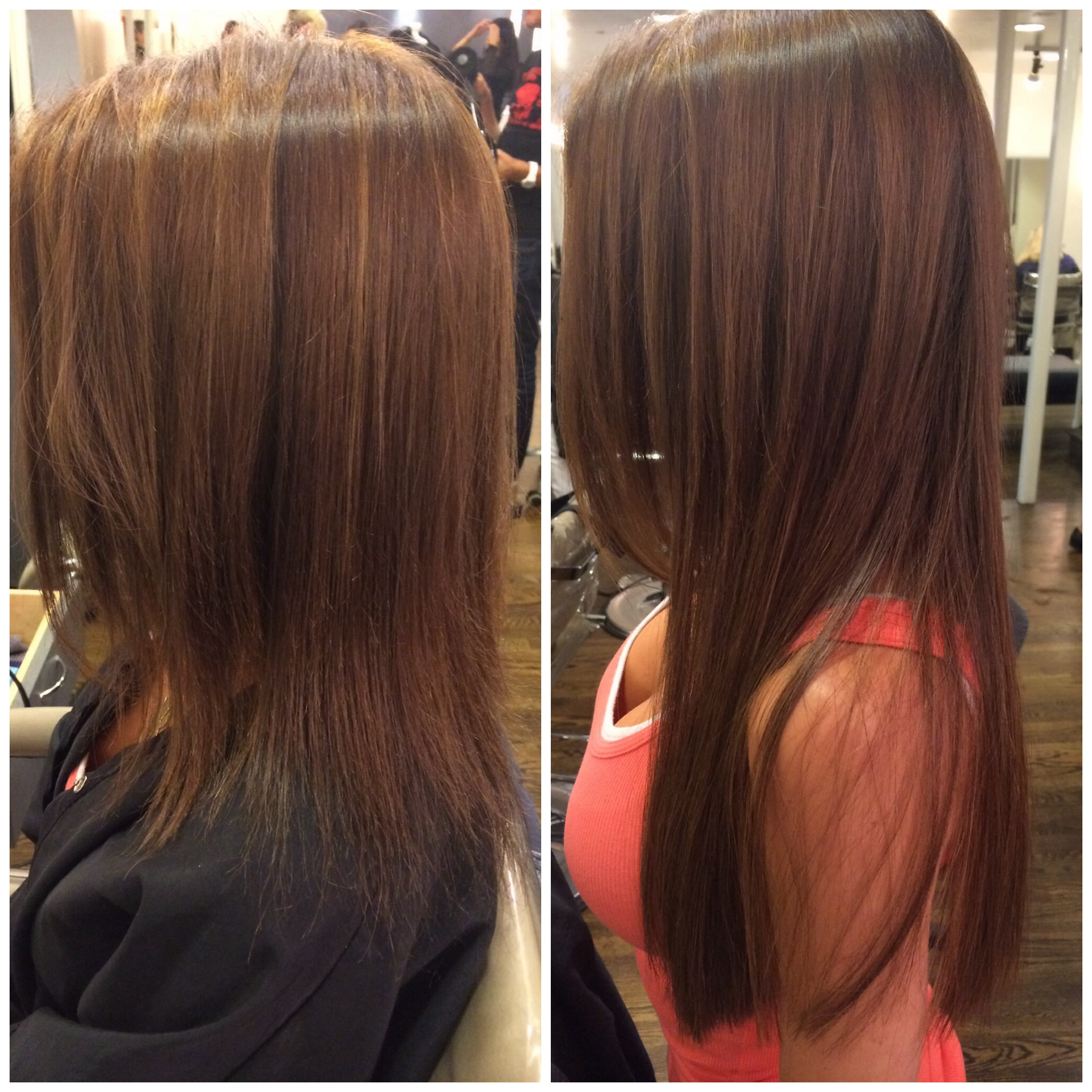 Before & After  Great Lengths Extensions
