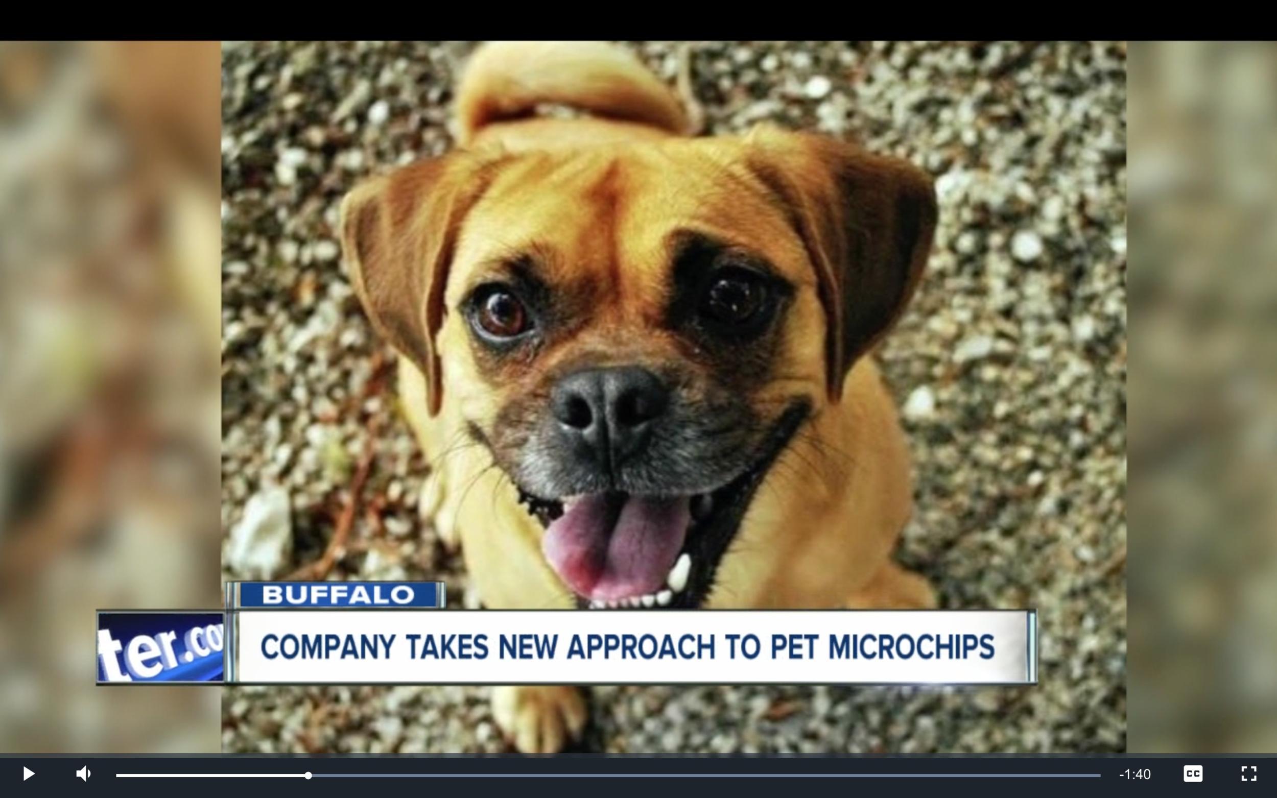 peeva microchip and pet technology