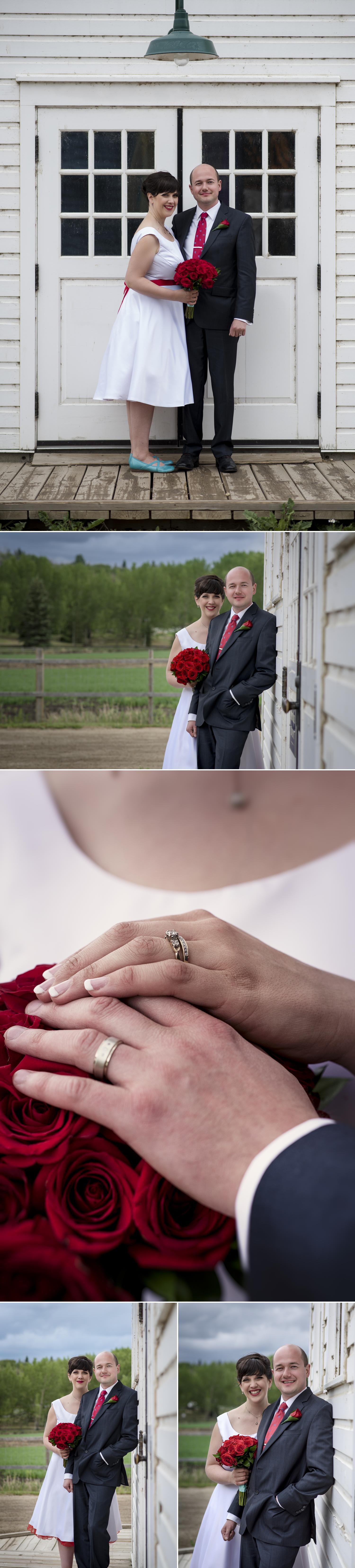 Wedding at Fort Edmonton Park, Edmonton, Alberta, Canada. Photography by Friday Design + Photography from Edmonton, Alberta, Canada