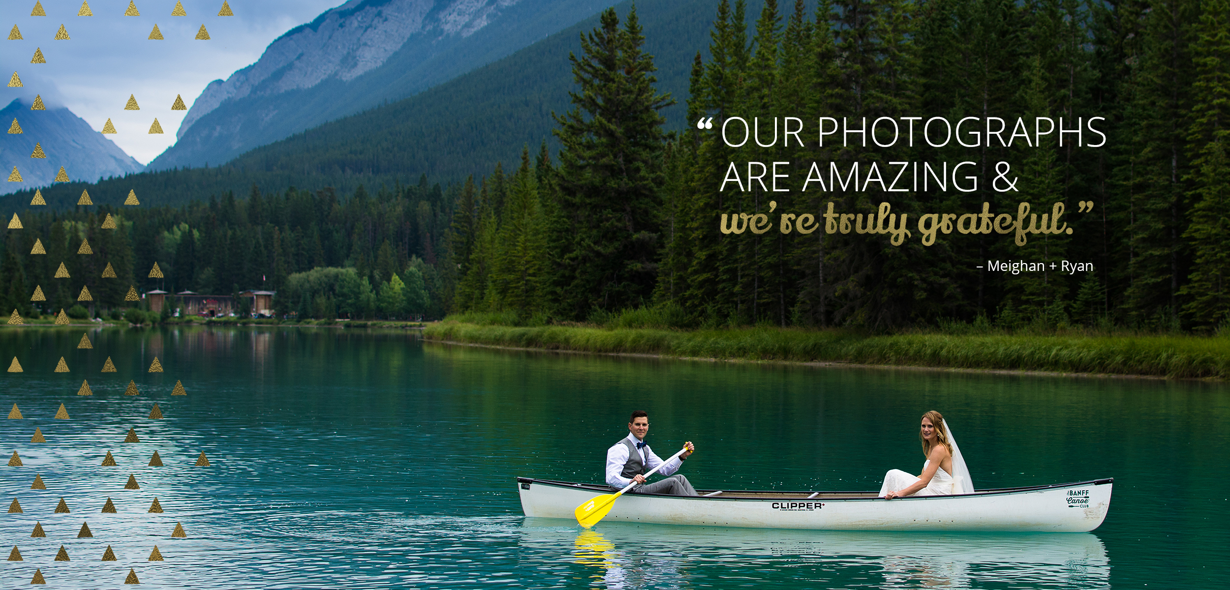 """""""Our photographs are amazing & we're truly grateful."""" - Meighan + Ryan. Photography by Kelly Skinner of Friday Design + Photography"""